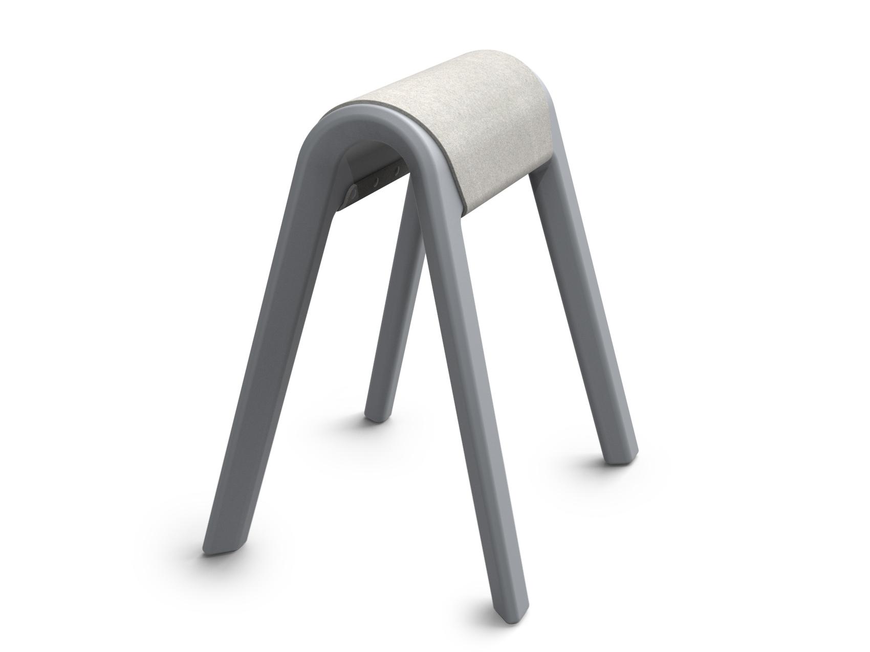 Filzauflagen für Sitzbock